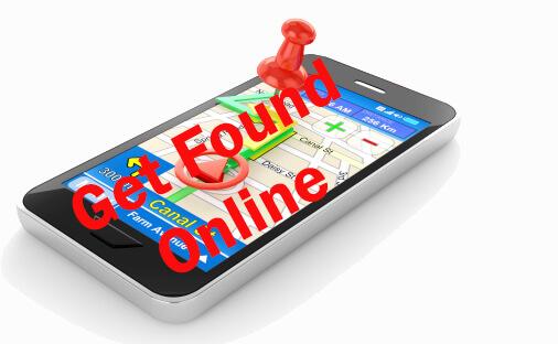 get found online map