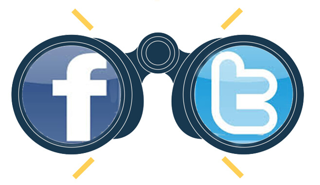 facebook twitter views