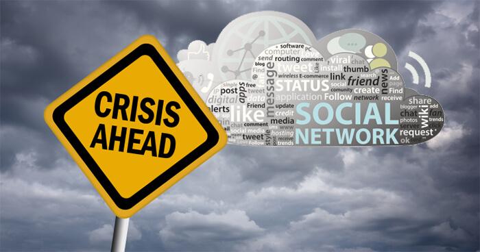 crisis ahead social network