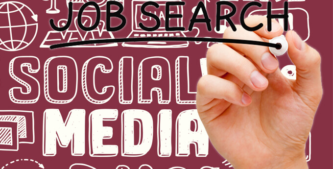 job search social media