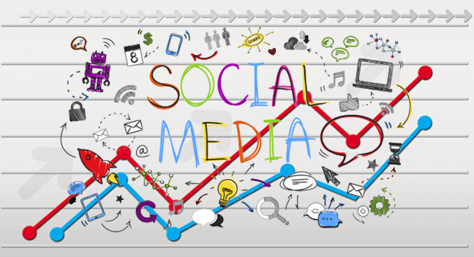 social media search results