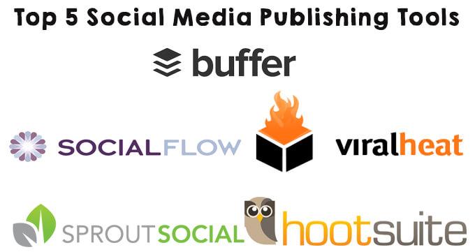 top five social media publishing tools