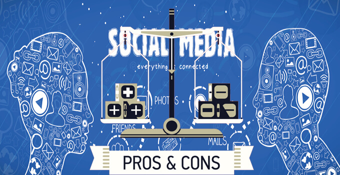 pros and cons advertising media You'll hear plenty of praise for social media from us marketing bods after all, when you consider the amount of time people are spending on these sites it's difficult not to get excited.