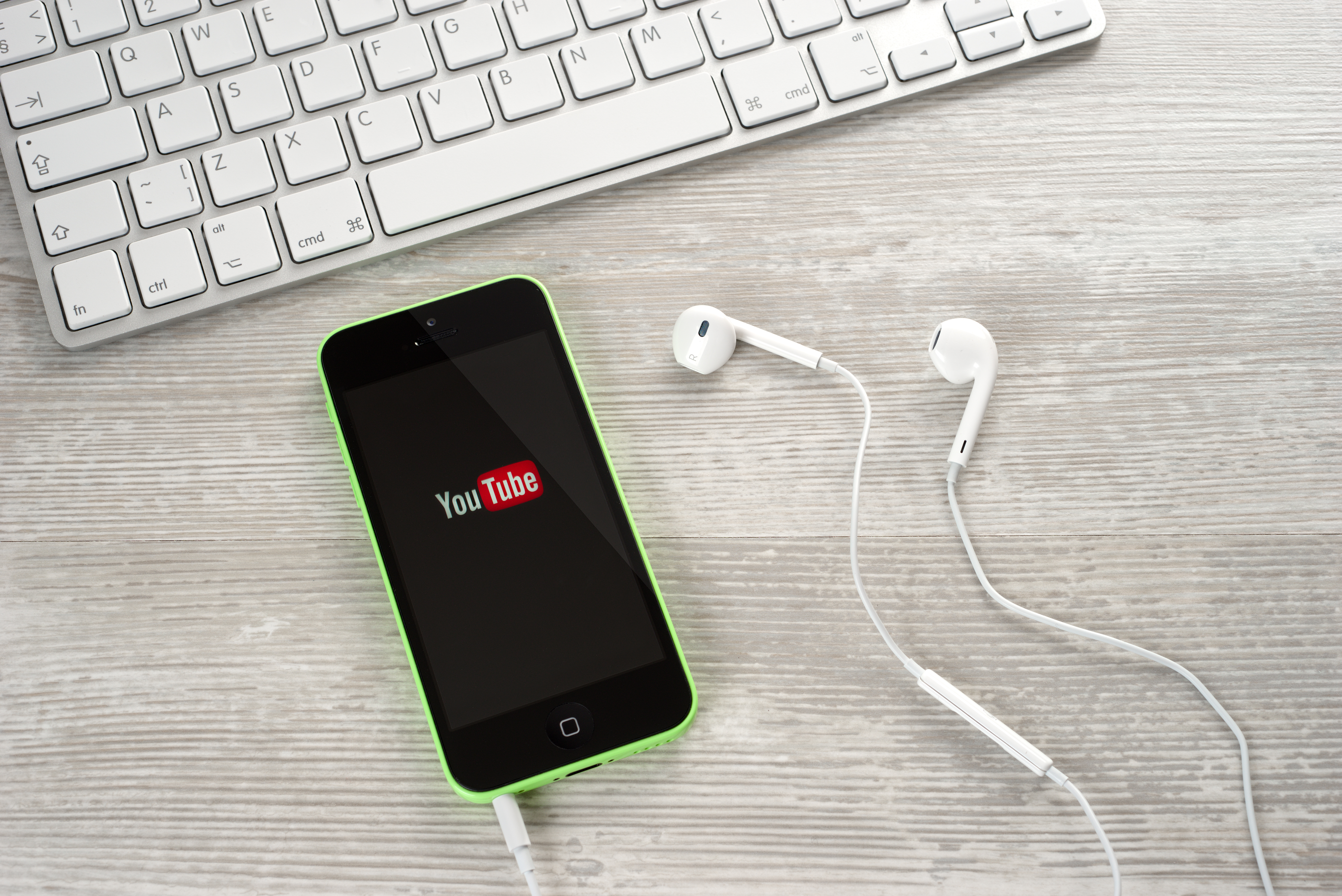 Youtube video for marketing success