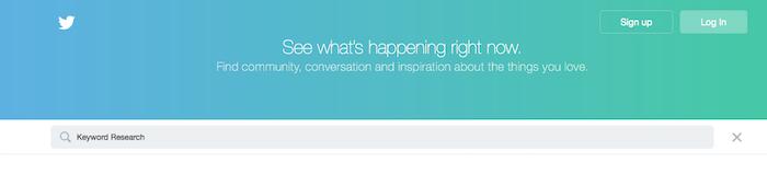Twitter-Keyword-Research