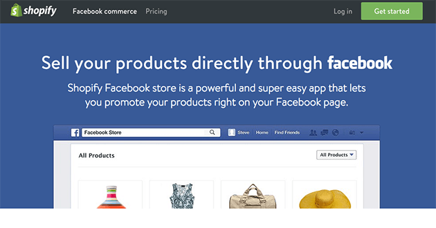 Shopify-Facebook-Store