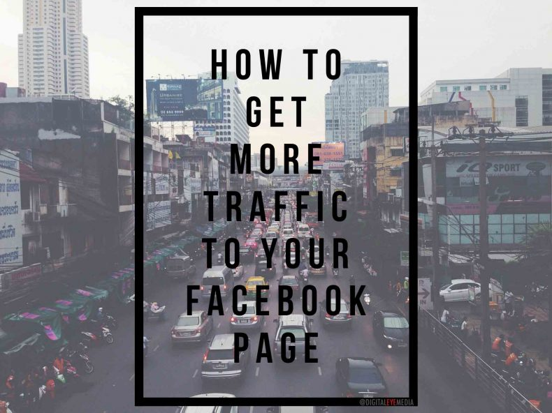 traffic to your facebook page