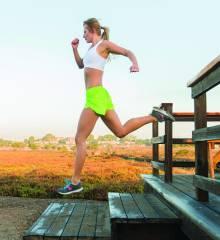 woman running boa