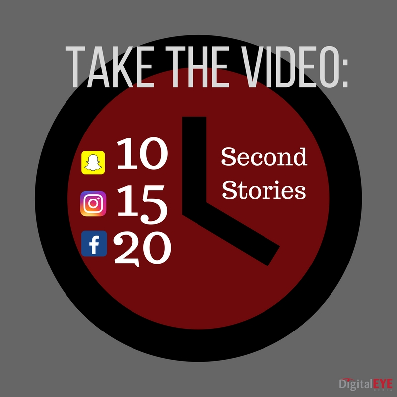 video length for facebook stories